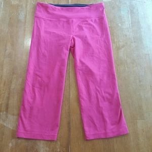 Under Armour Cropped Leggings Pink